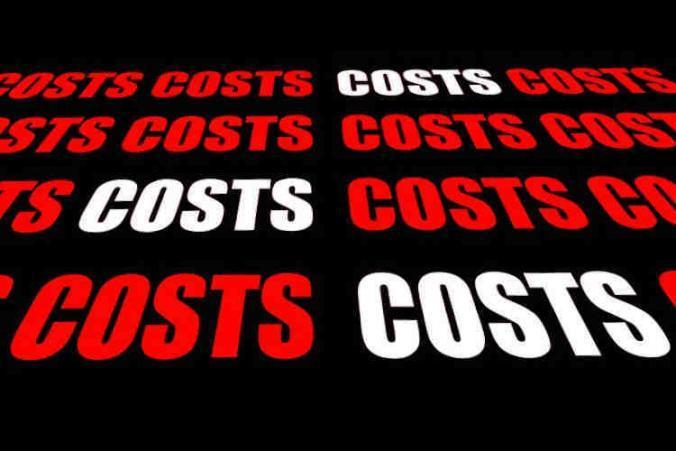 LNI claim appeal costs